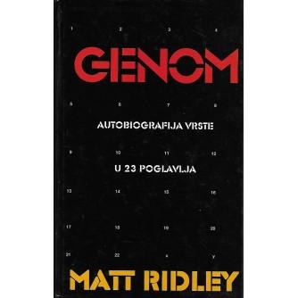 MATT RIDLEY : GENOM AUTOBIOGRAFIJA VRSTE U 23 POGLAVLJA